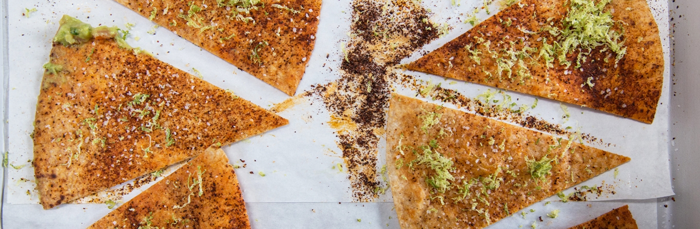 Baked Chili-Lime Tortilla Chips