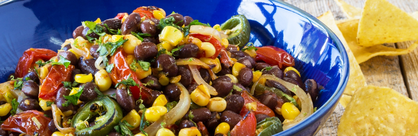 Black Bean and Roasted Corn Salsa