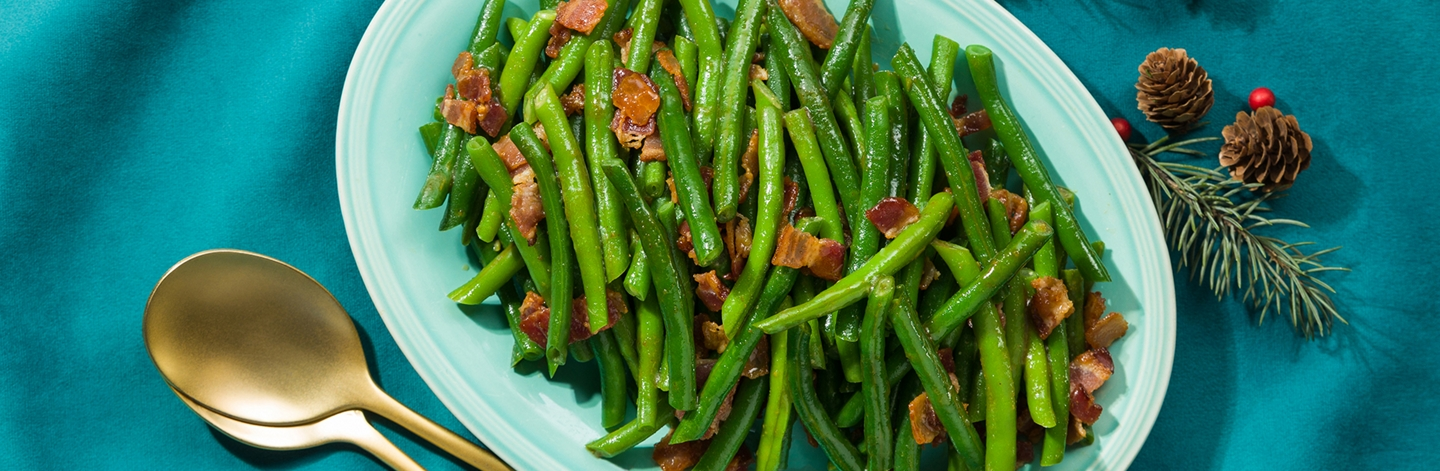 Old Fashioned Green Beans & Bacon