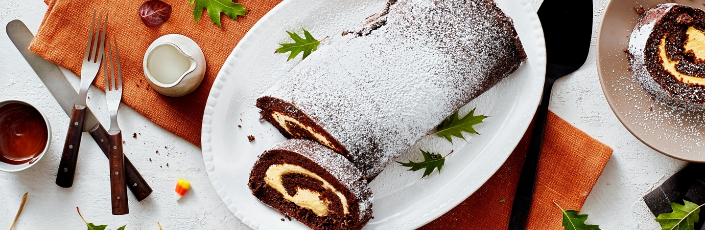 Pumpkin and Chocolate Roll