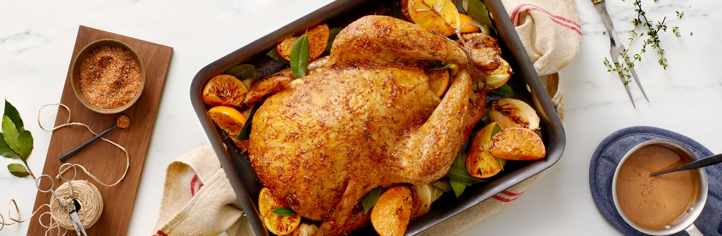 Roasted Turkey with Smoked Paprika