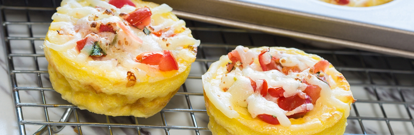 Salsa & Cheese Egg Cups