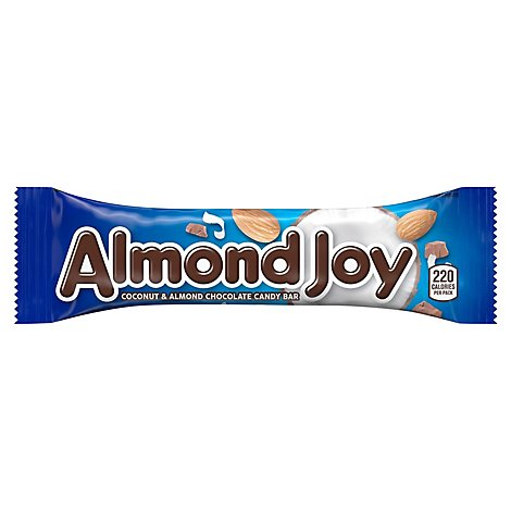Almond Joy Candy Bar Milk Chocolate Coconut & Almonds - 1.61 Oz