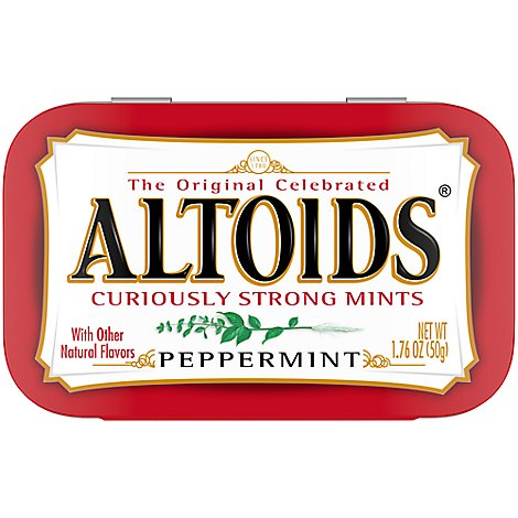 Altoids Peppermint Mints Single Pack 1.76 Oz