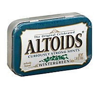 Altoids Wintergreen Mints Single Pack 1.76 Oz