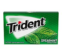 Trident Gum Sugarfree with Xylitol Spearmint - 18 Count