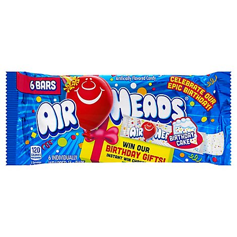 Airheads Candy Bar Birthday Cake - 3.3 Oz