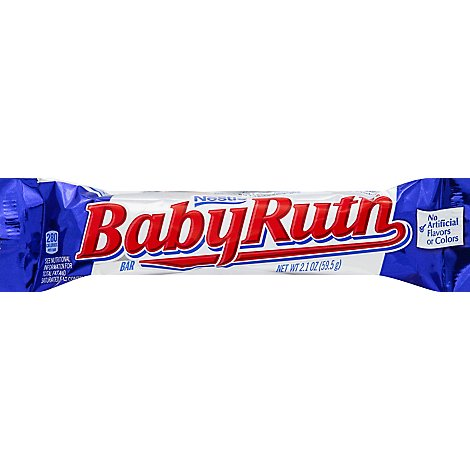 Baby Ruth Candy Bar - 2.1 Oz