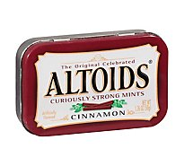 Altoids Hard Candy Mints Cinnamon Single Pack - 1.76 Oz