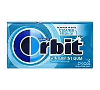 Orbit Wintermint Sugarfree Gum Single Pack