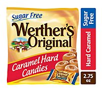 Werthers Original Caramel Hard Candies Sugar Free - 2.75 Oz
