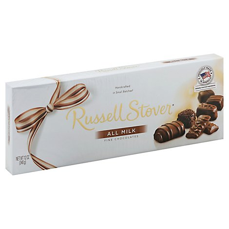Russell Stover Assorted Milk Chocolate - 12 Oz