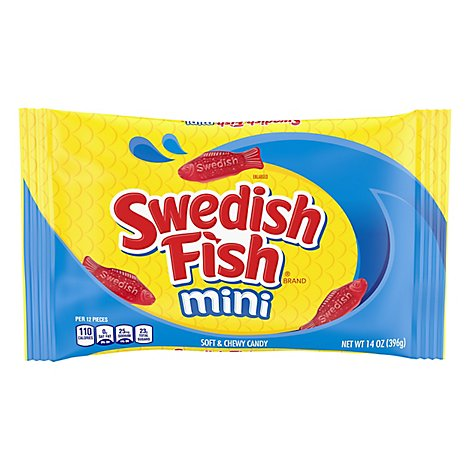 Swedish Candy Soft & Chewy Fish - 14 Oz