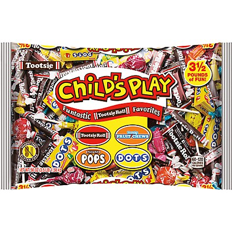 Tootsie Roll Childs Play Candy Funtastic Favorites - 56 Oz