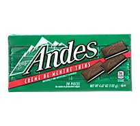 Andes Creme de Menthe Thins - 4.67 Oz