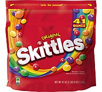 Skittles Original Candy Bag Party Size 41 Oz