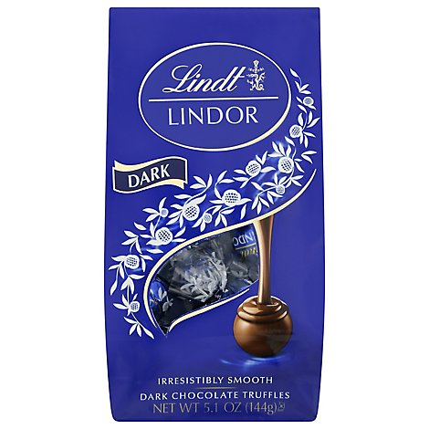 Lindt Lindor Truffles Dark Chocolate - 5.1 Oz