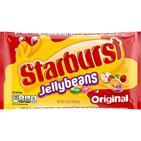 Starburst Fruit Chews Chewy Candy Original Jellybeans Bag - 14 Oz