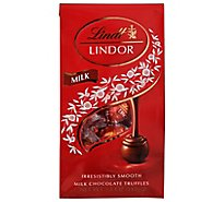 Lindt Lindor Truffles Irresistibly Smooth Milk Chocolate Bag - 5.1 Oz