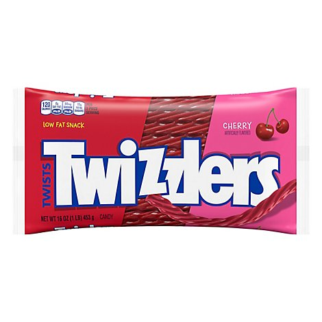 Twizzlers Candy Twists Cherry - 16 Oz