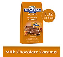 Ghirardelli Chocolate Squares Milk Chocolate Caramel - 5.32 Oz