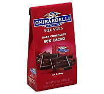 Ghirardelli Chocolate Squares Dark Chocolate 60% Cacao - 5.25 Oz
