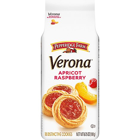 Pepperidge Farm Cookies Sweet & Simple Apricot Raspberry Thumbprint - 6.75 Oz