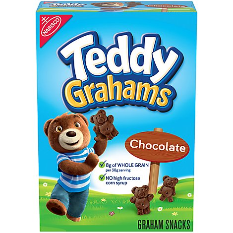 Honey Maid Teddy Grahams Graham Snacks Chocolate - 10 Oz