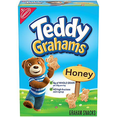 Honey Maid Teddy Grahams Graham Snacks Honey - 10 Oz