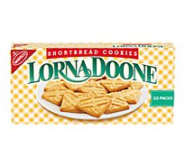Lorna Doone Cookies Shortbread Snack Pack 4 Count - 10 Oz