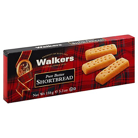 Walkers Shortbread Pure Butter - 5.3 Oz
