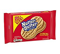 Nutter Butter Cookies Sandwich Peanut Butter Family Size! - 16 Oz