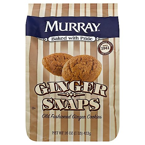 Murray Cookies Ginger Snap Old Fashioned - 16 Oz