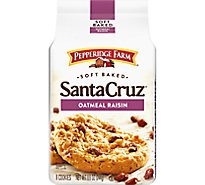 Pepperidge Farm Cookies Soft Baked Oatmeal Raisin Santa Cruz - 8.6 Oz