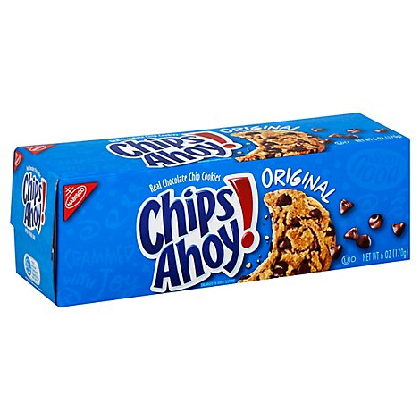 Chips Ahoy! Cookies Chocolate Chip Original - 6 Oz