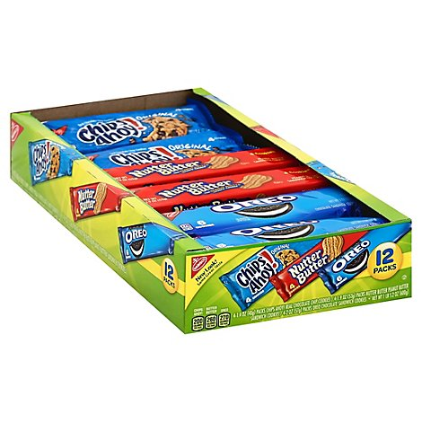 NABISCO Cookies Variety Box - 12 Count