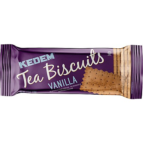 Kedem Vanilla Tea Biscuit - 4.2 Oz
