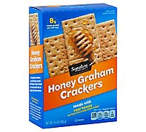 Signature SELECT Crackers Graham Honey - 14.4 Oz