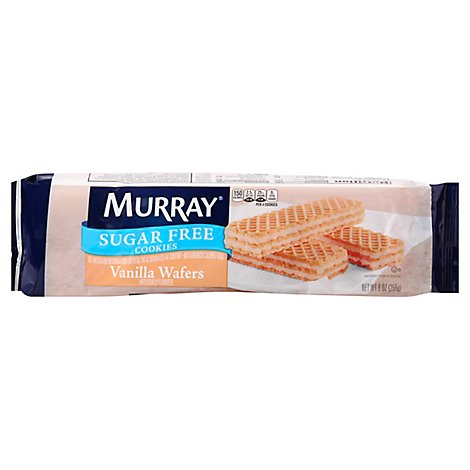 MURRAY Wafers Sugar Free Vanilla - 9 Oz