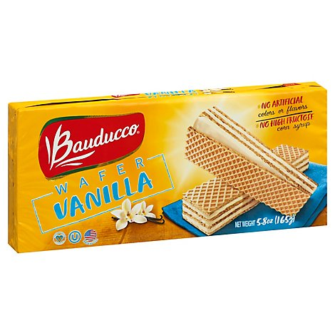 Bauducco Wafer Vanilla - 5.82 Oz