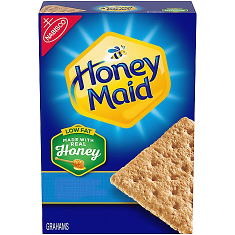 Honey Maid Grahams Honey Low Fat - 14.4 Oz