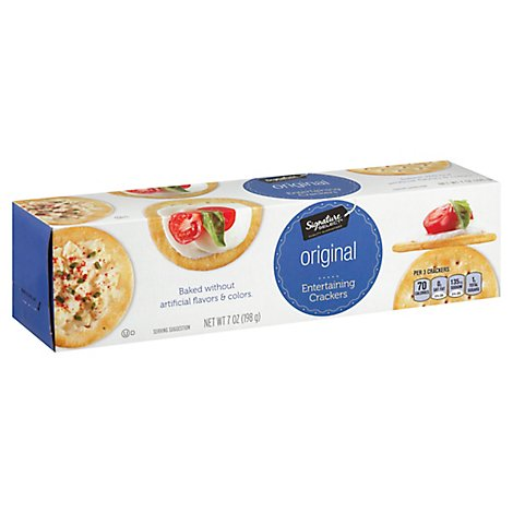 Signature SELECT Crackers Entertaining Original - 7 Oz
