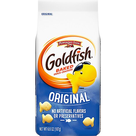 Pepperidge Farm Goldfish Crackers Baked Snack Original - 6.6 Oz