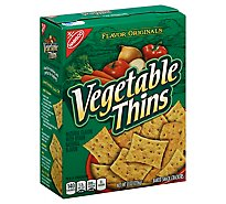 Vegetable Thins Crackers Baked Snack - 8 Oz