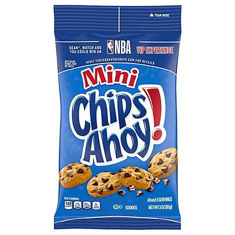 Chips Ahoy! Cookies Chocolate Chip Mini - 3 Oz