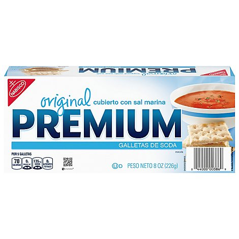 PREMIUM Crackers Saltine Original - 8 Oz