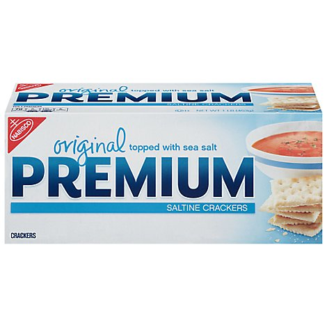 PREMIUM Crackers Saltine Original - 1 Lb