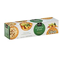 Signature SELECT Crackers Entertaining Reduced Fat Wheat - 8 Oz