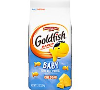 Pepperidge Farm Goldfish Crackers Baked Snack  Baby Cheddar - 7.2 Oz