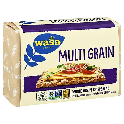 Wasa Crispbread Whole Grain Multi Grain - 9.7 Oz